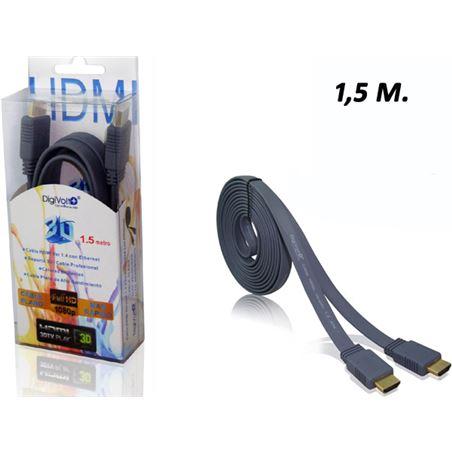 Todoelectro.es cable plano hdmi 1.5 metro ver 1.4(80/c)cb-8202