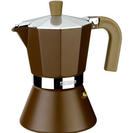 Monix cafetera bra cream 9 t. inducción m670009