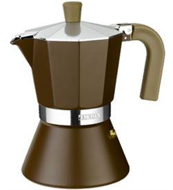 Cafetera inducción Monix 6 tazas, modelo cream M670006 - M670006