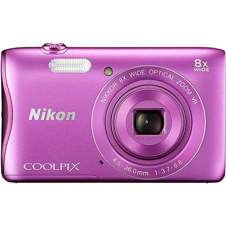 Nikon coolpix a300 - cámara digital compacta de 20.1 mp (pantalla lcd de 2. NIKA300P