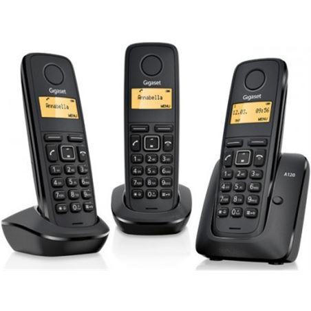Siemens telefono inalambrico gigaset trio a120trio a120 +