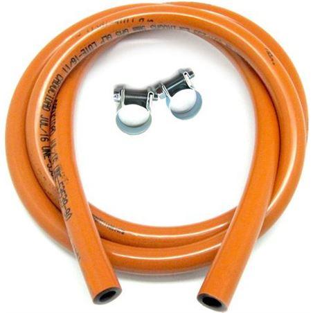 Todoelectro.es kit manguera butaflex bicapa 1,5 mts+2 abrazad elek74195