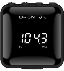 Brigmton BT125N radio fm digital sd/mp3 bt-125 n negro - 8425081015989