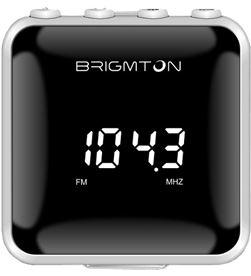 Radio fm digital sd/mp3 Brigmton bt-125 b blanco BRIBT125B - 8425081015972
