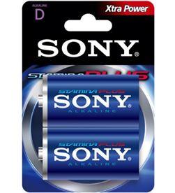 2 pilas alcalinas Sony plus lr20-d 1,5v SONAM1B2D - 008562006256