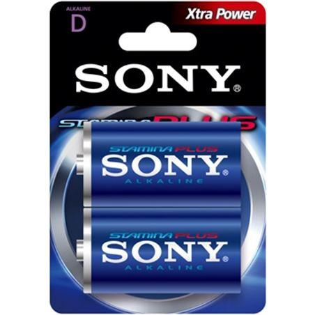2 pilas alcalinas Sony plus lr20-d 1,5v SONAM1B2D