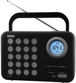 Daewo DBF139 radio digital usb o drp-120g gris Radio Radio/CD - DAEDBF139