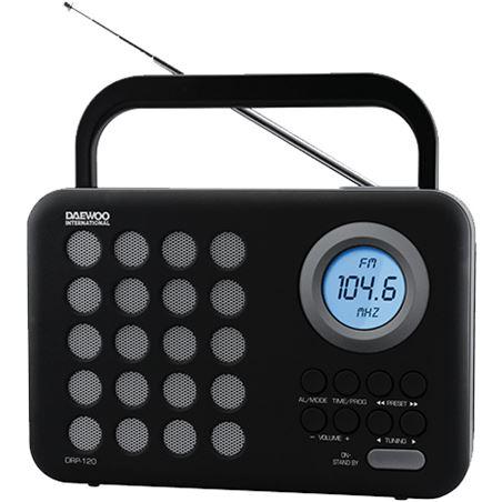 Radio digital  usb Daewoo drp-120g gris DAEDBF139