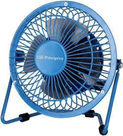 Ventilador Orbegozo mini pw 1020 azul conexiã³n usb ORBPW1020 - PW 1020