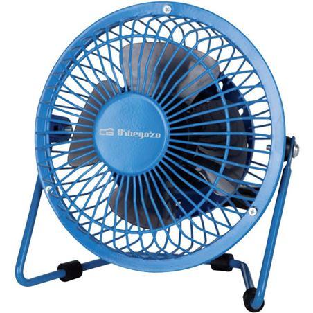 Ventilador Orbegozo mini pw 1020 azul conexiã³n usb ORBPW1020