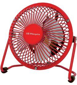 Ventilador Orbegozo mini pw 1021 rojo conexiã³n usb ORBPW1021 - PW 1021