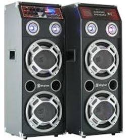 Informatica bafles activos usb karaoke 10. spled-800 skytec sky178456 - 178456