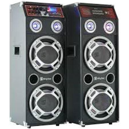 Informatica bafles activos usb karaoke 10. spled-800 skytec sky178456