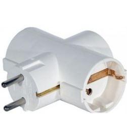 Todoelectro.es clavija triple t/tl 16 a 250v (old-153) eleke40063 - 8425998400632