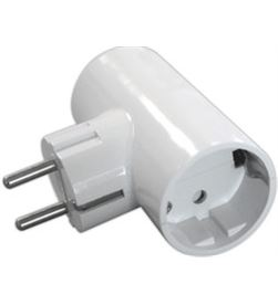 Todoelectro.es clavija doble t/tl 16 a 250v edm eleke40061 - 8425998400618