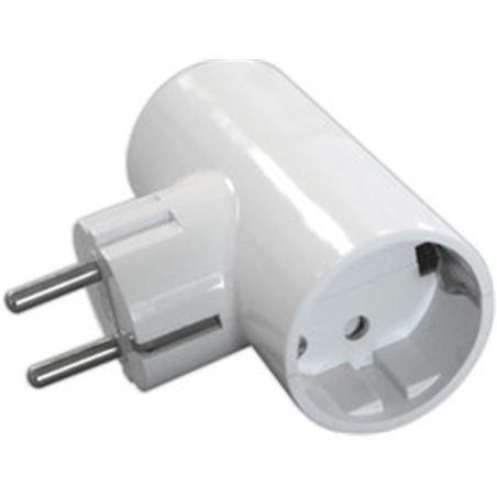 Todoelectro.es clavija doble t/tl 16 a 250v edm eleke40061