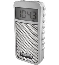 Brigmton BT-126-B radio am/fm digital altavoz memorias blanco bribt_126_b - BRIBT_126_B