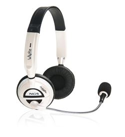 Nueva NGSMSX6WHITE auricular + micro ngs msx6 white - 8436001311906