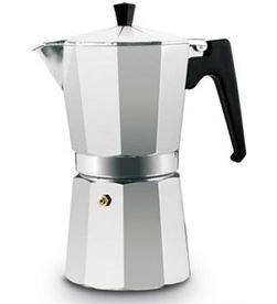 Cafetera clasica aluminio 6 tazas Alza ALZ00350006 - CAFETERA ALUMINIO 6 ALUMINIO6