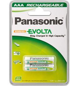 Pack 2 pilas recargables Panasonic aaa 750 mah PANHHR4MVE2BC - 5410853045267