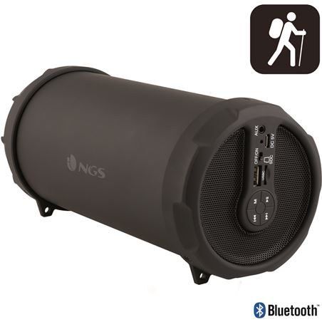 Nueva altavoz bluetooth ngs roller fl 20w+usb/sd radio ngsrollerflow