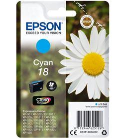 Epson C13T18024012 tinta cian 18 claria home Impresión - EPSC13T18024012