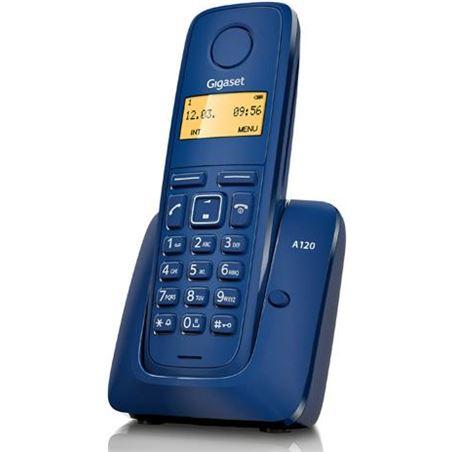 Siemens telefono inalambrico a120 azul 08150375