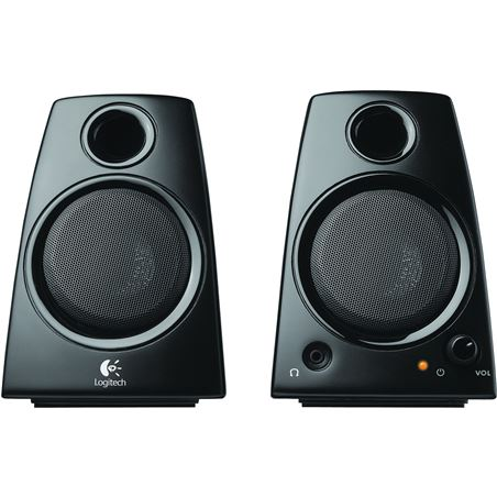 Altavoces pc Logitech z130 980-000418, negro LOG980000418