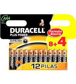 Duracell 8+4 pilas lr-03 mn 2400 plus 84lr03mn2400 05137345 - 05137345