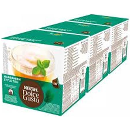 Nestlé bebida dolce gusto marrakech tea nes12212466