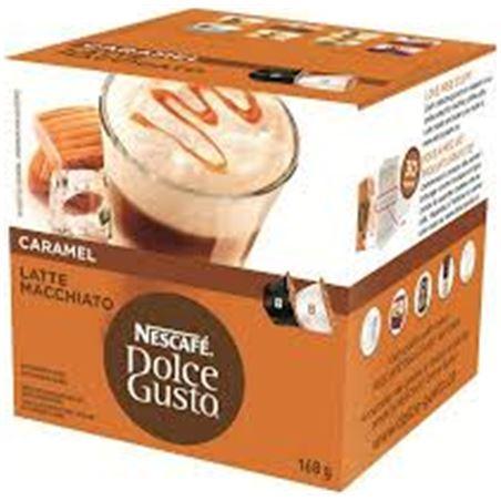 Nestlé bebida dolce gusto caramal latte machiatto nes12136960