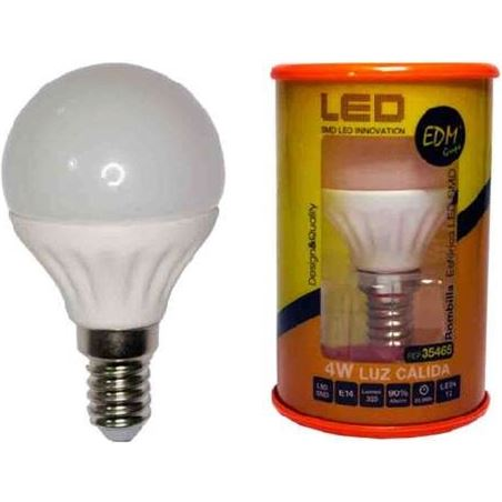 Todoelectro.es bombilla led elektro e14 5w 3200k luz calida 35465 elek35465