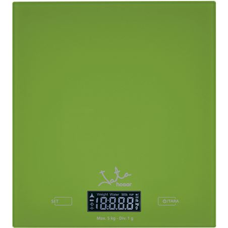 Balanza 729V Jata hogar, verde 5kg/1g, in