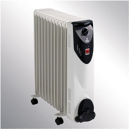 F.m. radiador de aceite fm rw25 serie rw 2500w, 11 ele