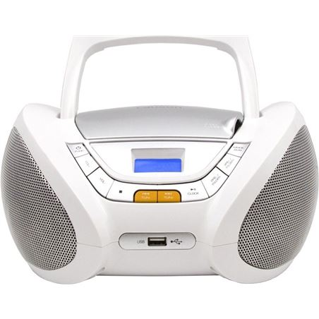 Radio cd Lauson CP443, blanco