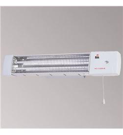 F.m. radiador de cuarzo fm 1502c 1200w, 2 barras de bañ - 04200500