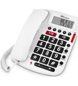 Spc 3293B telefono fijo telecom blanco Telefonía doméstica - 08151965