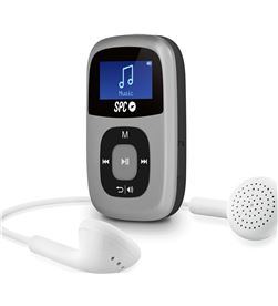 Reproductor mp3 Spc 8644S plata Reproductores MP3/4/5 - 8644S