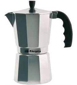 Cafetera inox Orbegozo KF300, 3 tazas, aluminio Cafeteras express - KF300