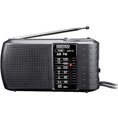 Radio analógica Daewoo DRP14, am/fm analogica, alt
