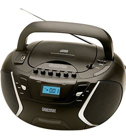 Radiocassett Daewo DBU51, cd-r/cd-rw/mp3, puerto u - DBU51
