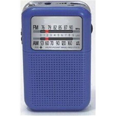 Radio analógica Daewoo DRP8BL, am / fm, altavoz