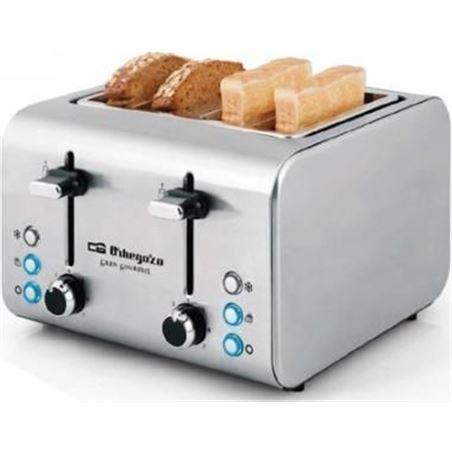 Tostador Orbegozo TO8000 para 4 rebanadas de pan