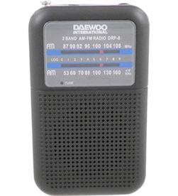Daewo DRP8BN radio analógica o drp8n, am / fm, altavoz inc - 8412765679797