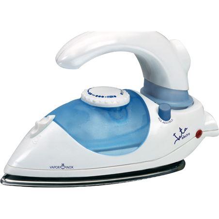 Plancha ropa Jata PL357N, 800w, suela inox, azul-b