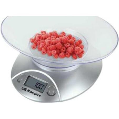 Balanza cocina Orbegozo PC1009, 5kg, analogica, bl