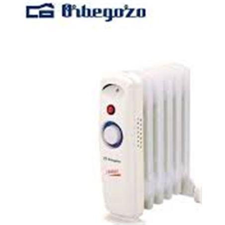 Radiador aceite Orbegozo RO710C, 700w, 6 elementom