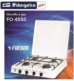 Hornillo Orbegozo FO4550, butano, 4fuegos, blancoa - FO4550