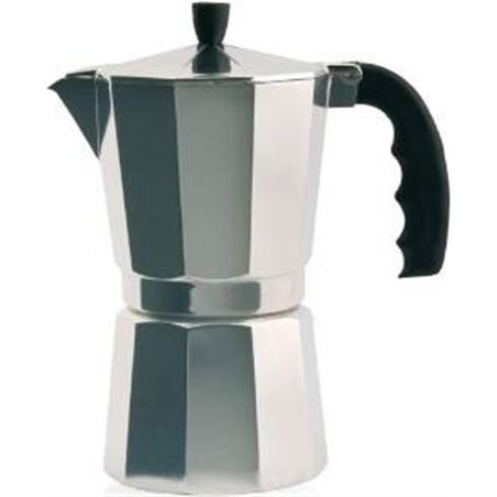 Cafetera inox Orbegozo kf1200, 12 tazas, aluminio ORBKF1200