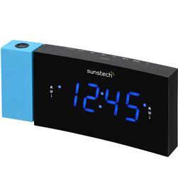 Sunstech FRDP3BL radio despertador proyector , azul - FRDP3BL